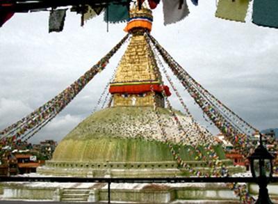 Temple bouddhiste Népal