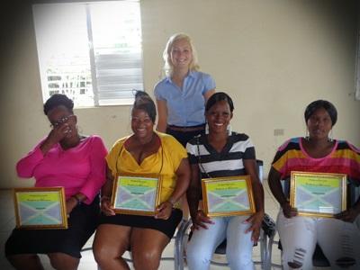 Projet d'alphabétisation en Jamaïque