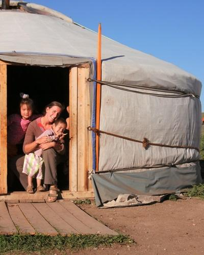 Mission humanitaire, Mongolie par Isabelle Faby