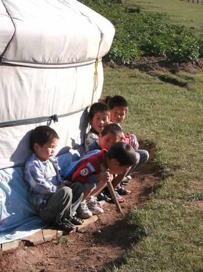 Mission humanitaire, Mongolie par Isabelle Faby