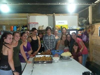 écovolontaires au Pérou