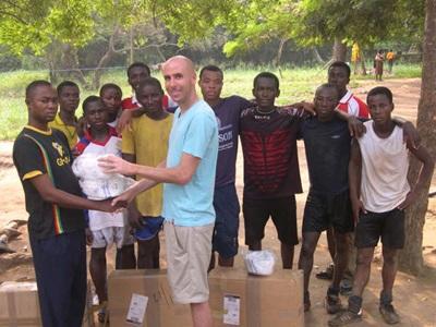 Encadrement sportif au Ghana