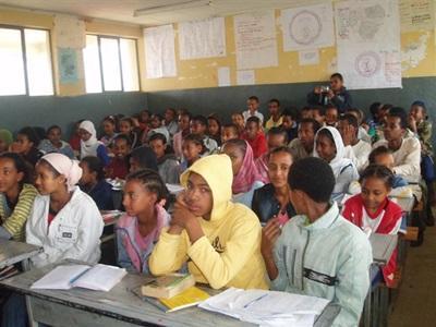 Classe en Ethiopie