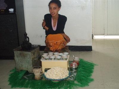 Le thé à l'éthiopienne