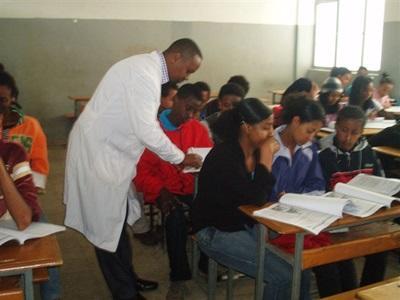 Mission d'enseignement en Ethiopie