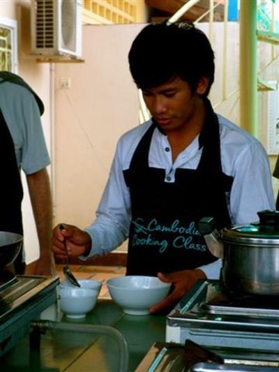 Cours de cuisine cambodgienne