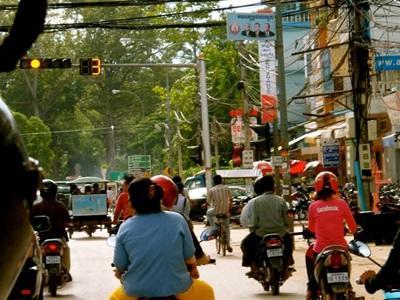 Rues de Phnom Penh