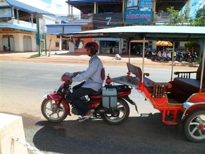 tuk-tuk, transport local au Cambodge