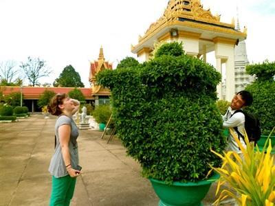 Visites de temples au Cambodge