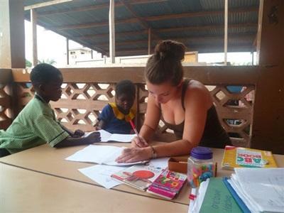 Aider des enfants en Afrique