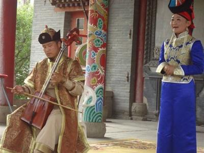 Chants traditionnels de Mongolie