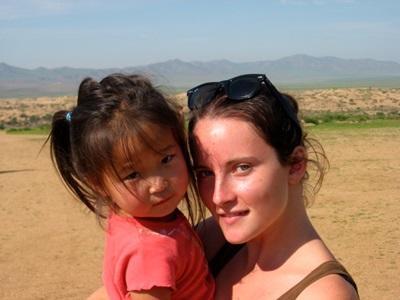 Juliette en stage médecine en Mongolie