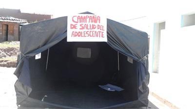 Dispensaire au Pérou