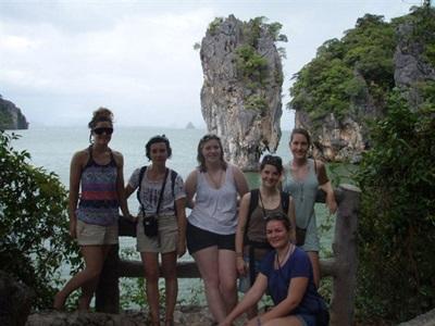 Volontaires en environnement en Asie