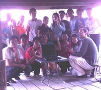 Enseignement en Cambodge Laurent Duvergé