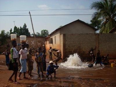 Scènes de rue au Togo