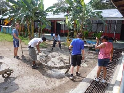 Mission humanitaire, Costa Rica, par Lucas Marie