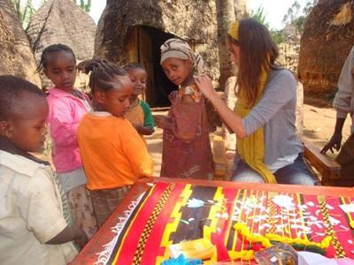 S'occuper d'enfants en Ethiopie
