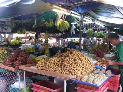 Marché de thaïlande
