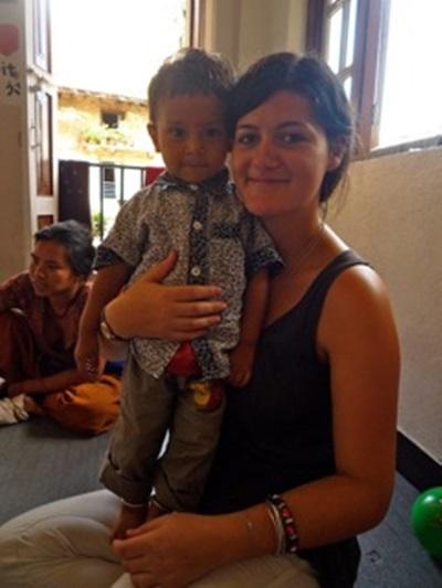 Volontaire en mission humanitaire au Népal