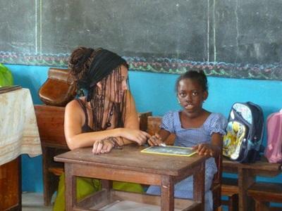Aide aux enfants autiste au Togo