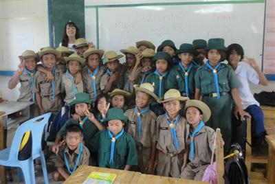 Enseignement, Thaïlande par Marie Gervaise