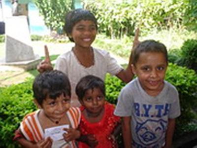 Marie Gudin, Népal. Les enfants du centre
