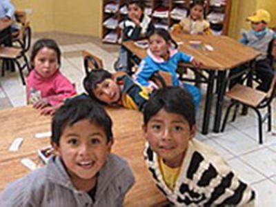 Une école en Bolivie (photo Laurent Good)
