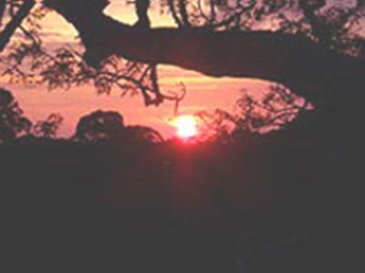 Crépuscule rouge