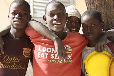 Aider les talibés au Sénégal