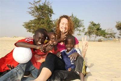 Mathilde, volontaire humanitaire en Afrique de l'Ouest