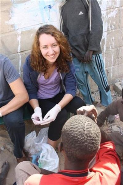 Soins aux enfants des rues, Sénégal