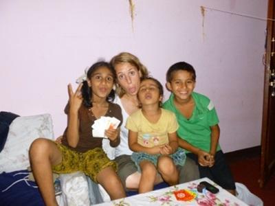 Mathilde Saint-Marc en stage médecine au Népal