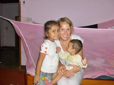 Mathilde Saint-Marc stage médecine au Népal