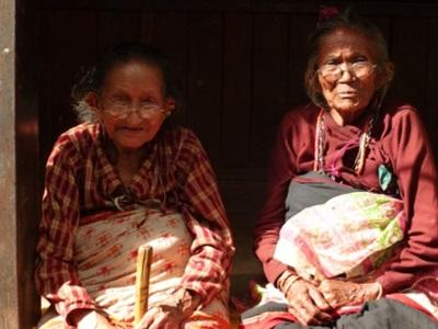 Femmes népalaises de Kathmandou