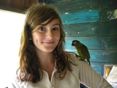 Melissa, écovolontaire au Pérou