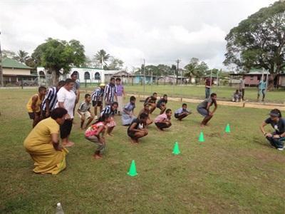 Action éducative bénévole dans le Pacifique