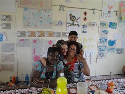Animation auprès d'enfants aux îles Fidji