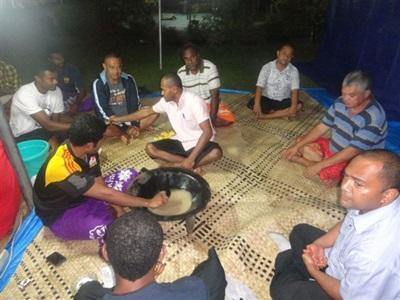 Immersion locale aux Fidji, Pacifique