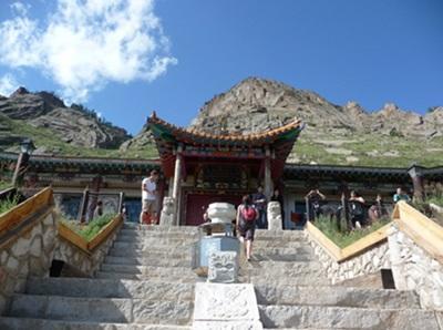 Temple bouddhiste en Mongolie