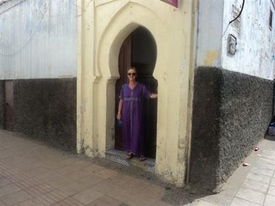 Nicole en mission Médecine au Maroc