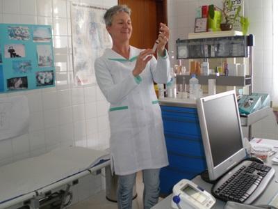 Nicole, volontaire-médecin en Afrique du nord