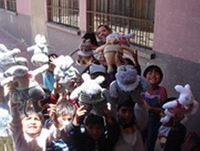 Les enfants et les Dodos. Nicole Montet, Bolivie