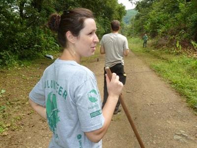 Oriane au Costa Rica