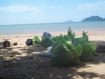 Collecte des déchets- thailande-environnement