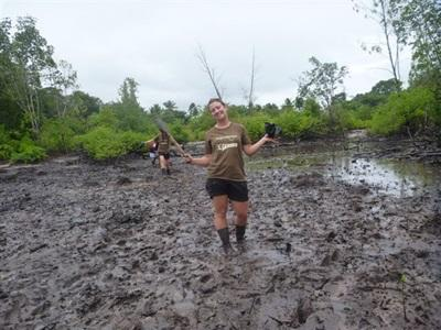 Pauline , ecovolontaire en Thailande