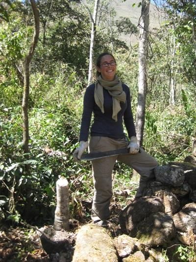 Archéologie, Pérou par Pauline Martin