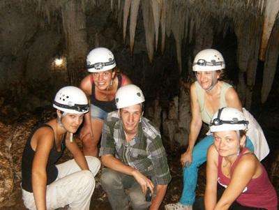 Visite des grottes de Barra Honda