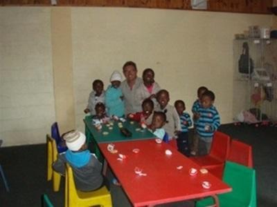 Mission de volontariat dans une crèche sud-africaine