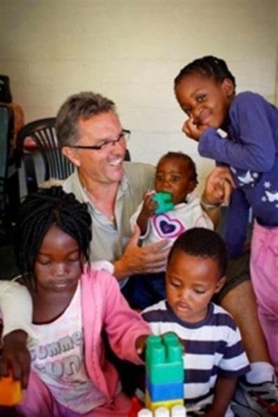 Pierre, volontaire en mission humanitaire en afrique du Sud